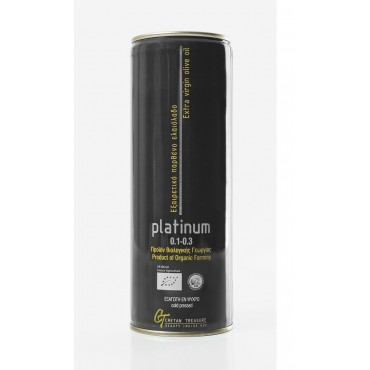 PLATINUM - metal can - 750ml