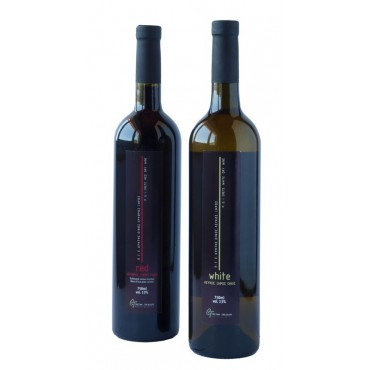 White dry cretan wine 750ml