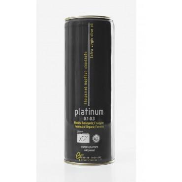 PLATINUM - metal can - 750ml