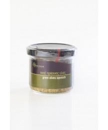 Green Olives Tapenade - Glass jar - 100 gr