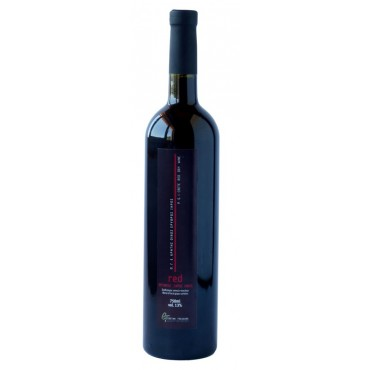 Red dry cretan wine 750ml